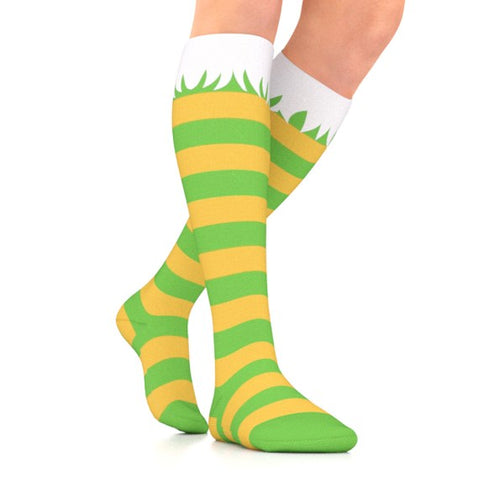go2 compression elf holiday socks