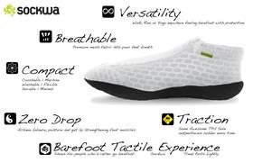 sockwa x8 running shoe details and features