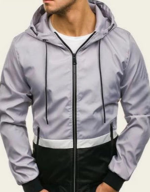 Shein Cut and Sew Windbreaker Men's