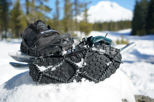 cold weather running shoe with yaktrax