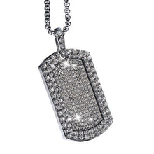 Load image into Gallery viewer, ICED Dog Tag Pendant