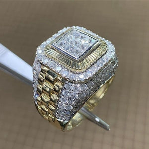 ICED Diamond & Gold Ring