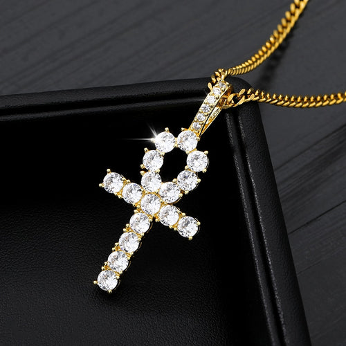 Classic Iced Out Pendant/Chain