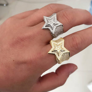 Bling Star Ring