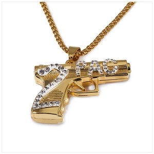 2Pac Hit 'Em Up Pistol Chain