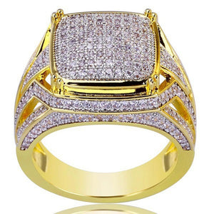Diamond Offset Ring