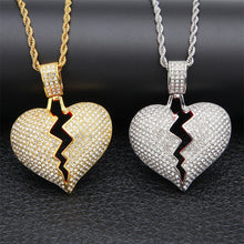 Load image into Gallery viewer, XXXTentacion Broken  Heart Pendant
