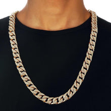 Load image into Gallery viewer, ICED Cuban Chain Necklace