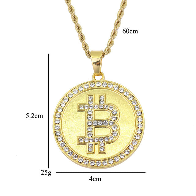 Bit Coin Pendent