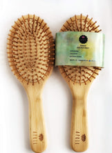 Load image into Gallery viewer, Bamboo Oval Hair Brush