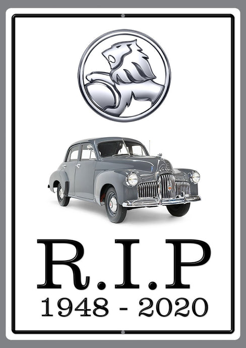 End of an Era R.I.P. Holden
