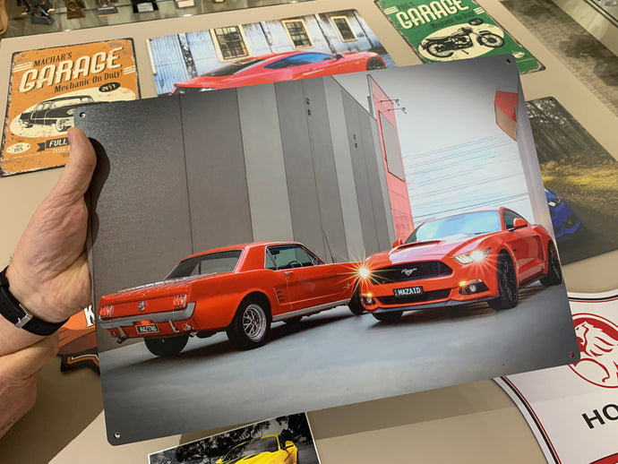Mustang Mods and Wall Art