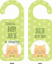 Load image into Gallery viewer, Baby Door Hangers - Wooptooii