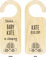 Load image into Gallery viewer, Baby Door Hangers (Wooden) - Wooptooii