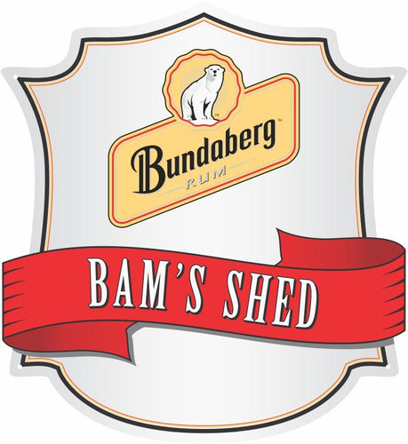 Bundaberg Rum Logo Custom Shield - Wooptooii