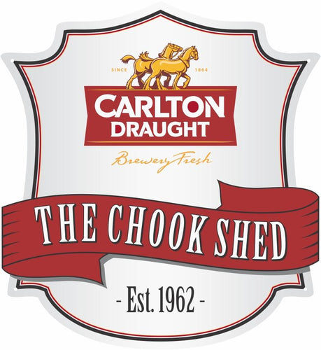 Carlton Draught Beer Logo Custom Shield - Wooptooii