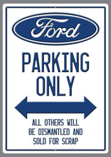 "Load image into Gallery viewer, ""Your Favourite Car"" Only Parking Sign - Wooptooii"