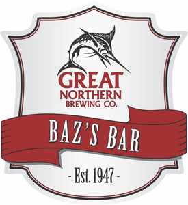 Great Northern Beer Logo Custom Shield - Wooptooii