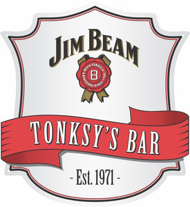 Jim Beam Logo Custom Shield - Wooptooii