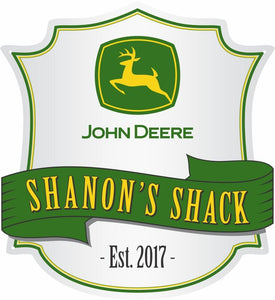 John Deere Logo Custom Shield