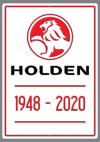 End of an Era Holden 1948-2020 Sign - Wooptooii