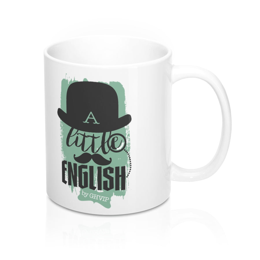Taza GHVIP - A Little English