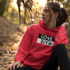 Sudadera con capucha Music Basics - Love/Hate - Unisex
