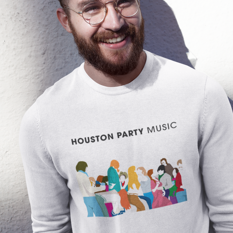Sudadera 20 Aniversario Houston Party - Unisex