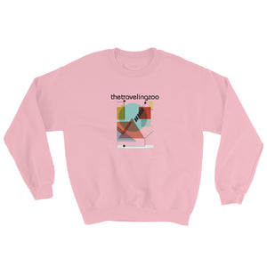 Sudadera Unisex - The Traveling Zoo - Flor y Nata Records