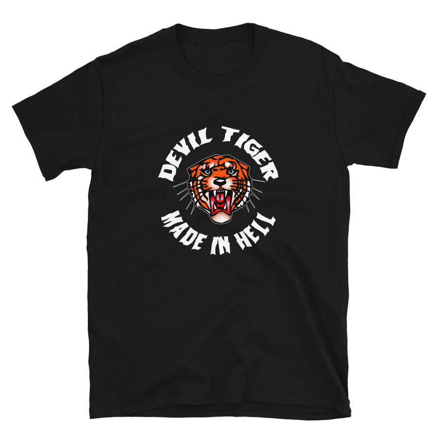 Camiseta Unisex - Devil Tiger
