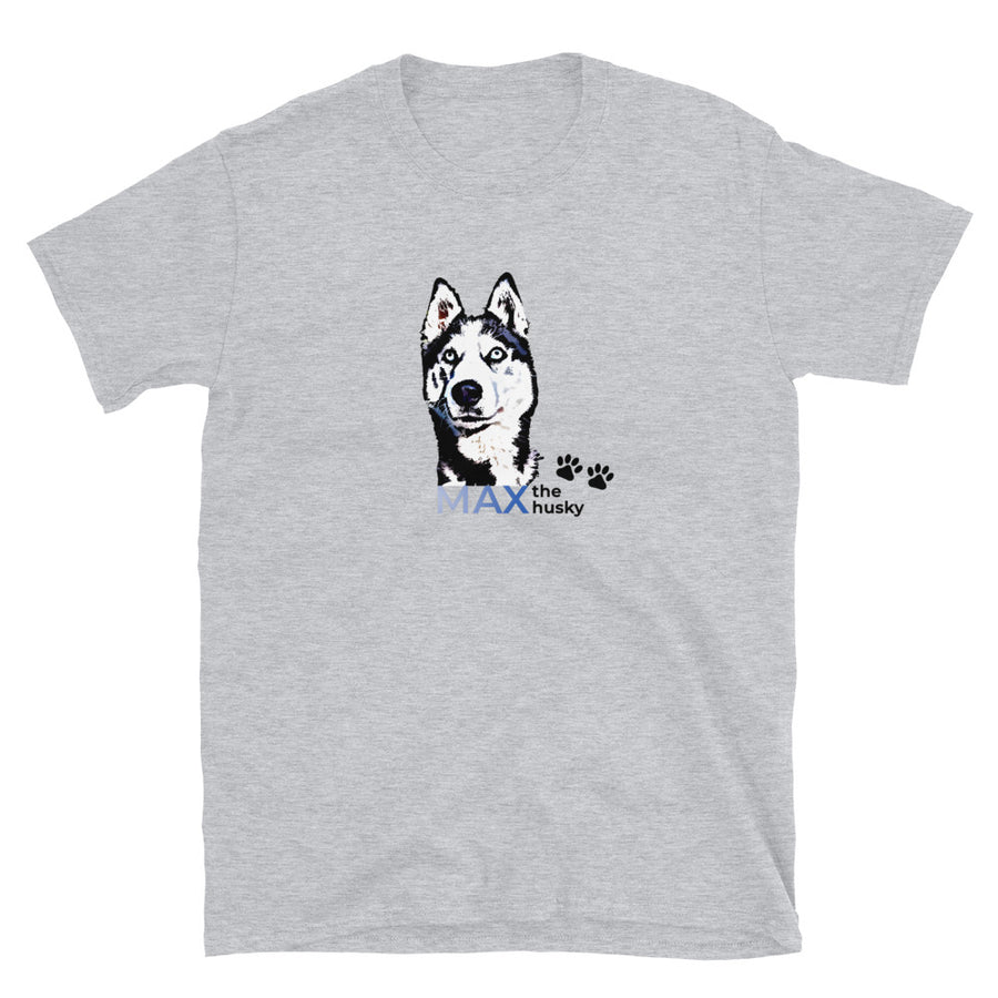 Camiseta Unisex - Max the Husky