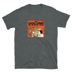 Camiseta Música - The Castro Zombies and the Mutant Phlegm
