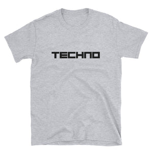 Camiseta Music Basics - Techno - Unisex