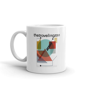 Taza The Traveling Zoo - Flor y Nata Records