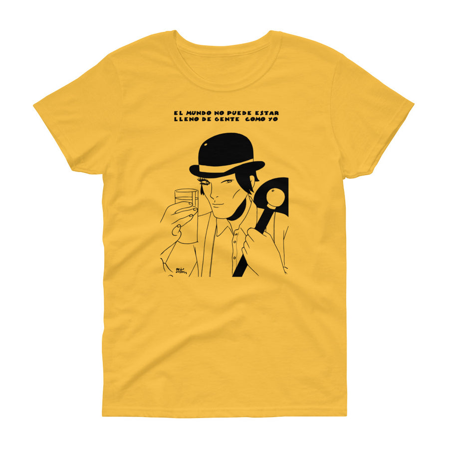 Comic - Camiseta Miguel Ángel Martín - A Clockwork Orange - Chica