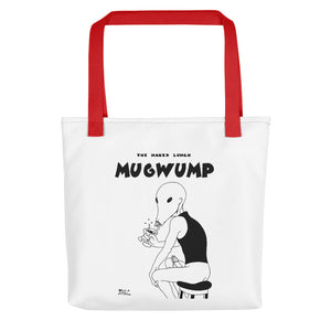 Tote Bag Comic - Miguel Ángel Martín - The naked lunch - Mugwump