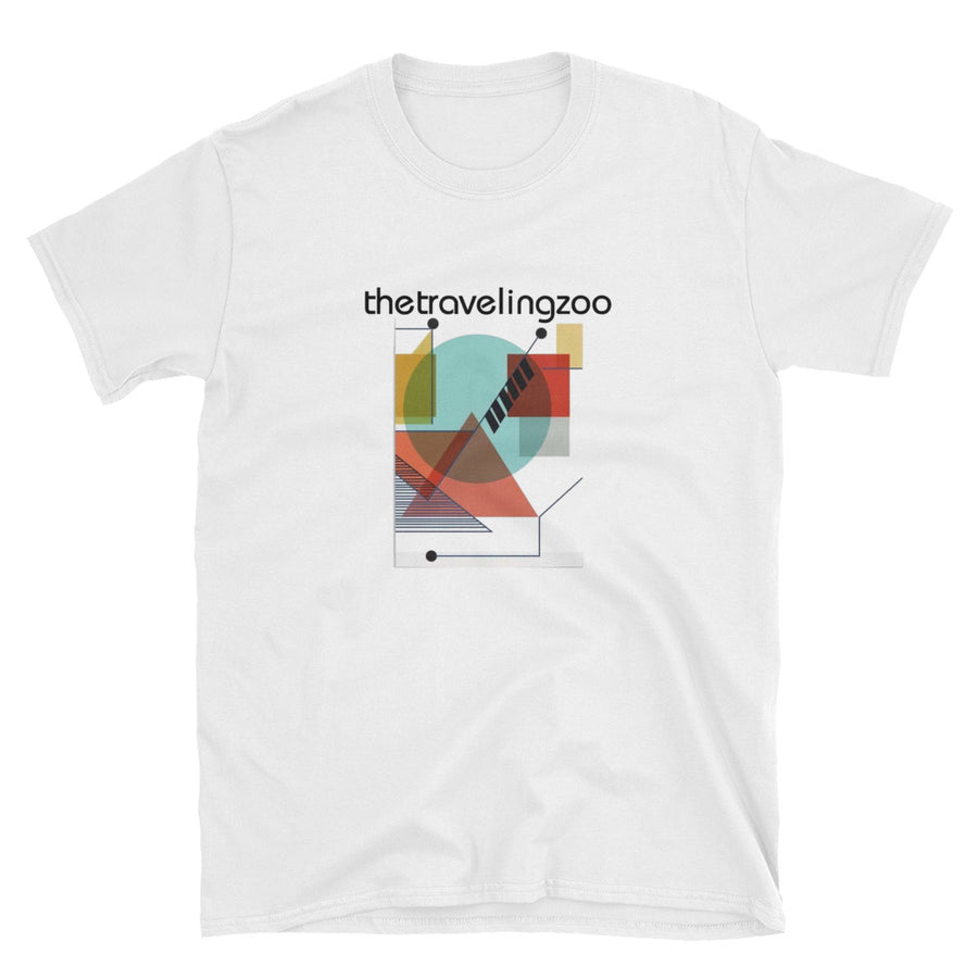 Camiseta Unisex - The Traveling Zoo - Flor y Nata Records