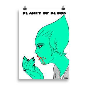 Poster Miguel Ángel Martín - Planet of Blood