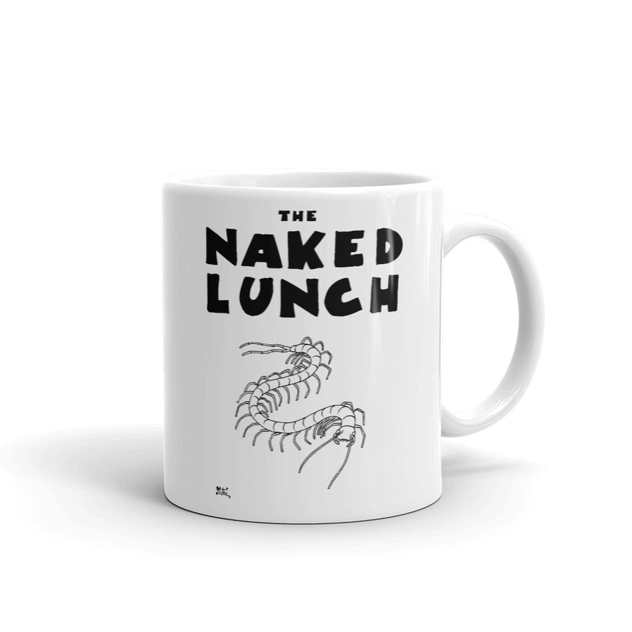 Taza Comic - Miguel Ángel Martín - The naked lunch