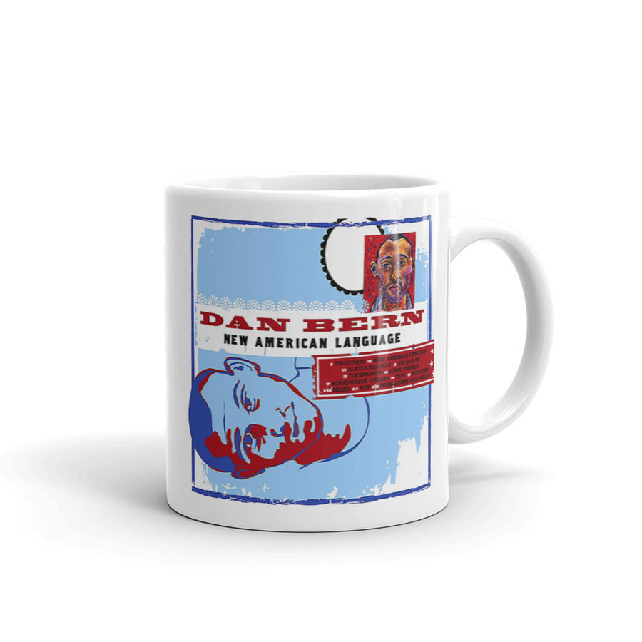 Dan Bern - New American Language Mug