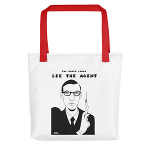 Tote Bag Comic - Miguel Ángel Martín - The naked lunch - Lee the agent