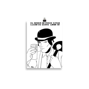Poster Comic - Miguel Ángel Martín - A Clockwork Orange