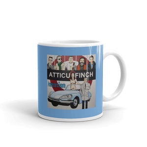 Taza Atticusfinch - Flor y Nata Records