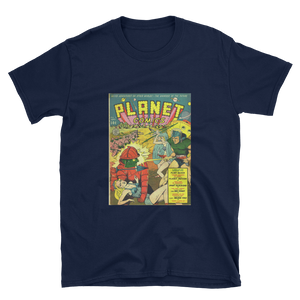 Camiseta Planet Comics nº 8 - Unisex