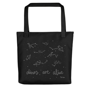Tote Bag de lona - Dinos are Alive