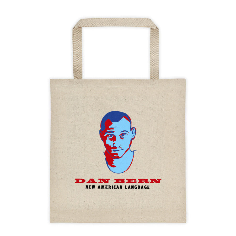Dan Bern - New American Language Tote Bag
