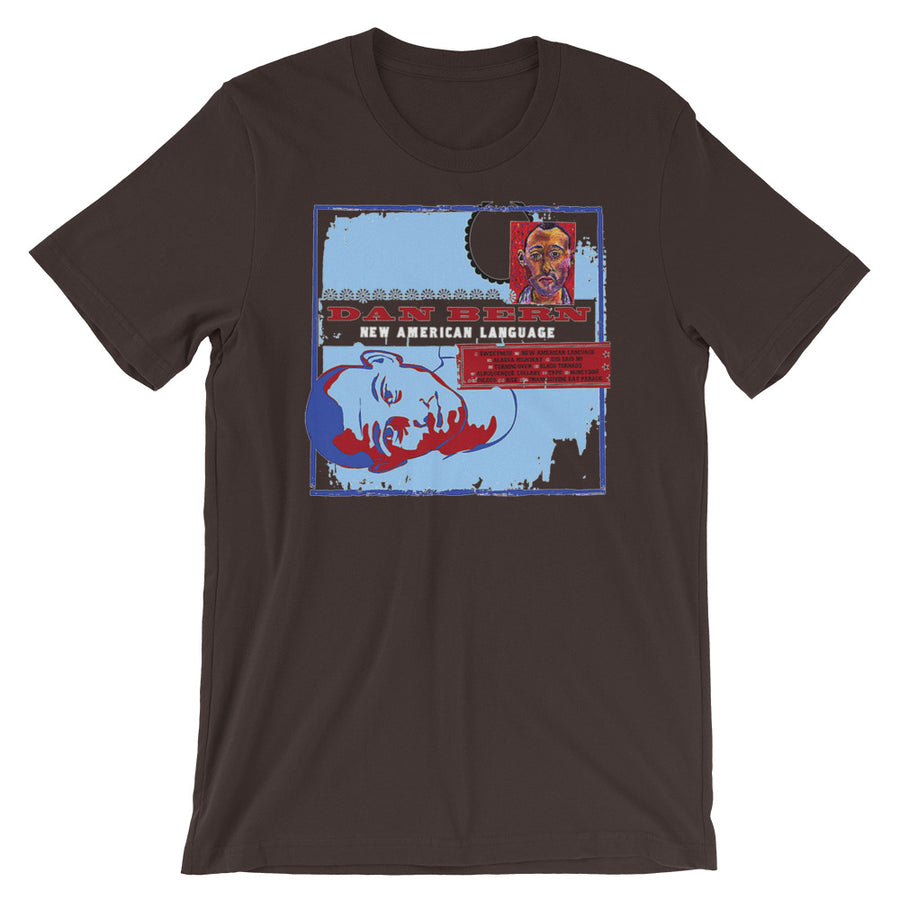 Dan Bern - New American Language - Premium Short-Sleeve Unisex T-Shirt