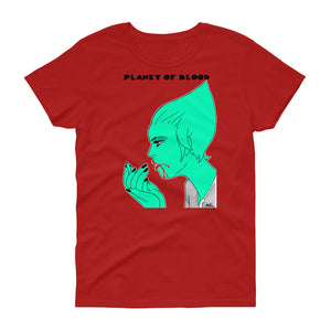 Comic - Camiseta Miguel Ángel Martín - Planet of Blood - Chica