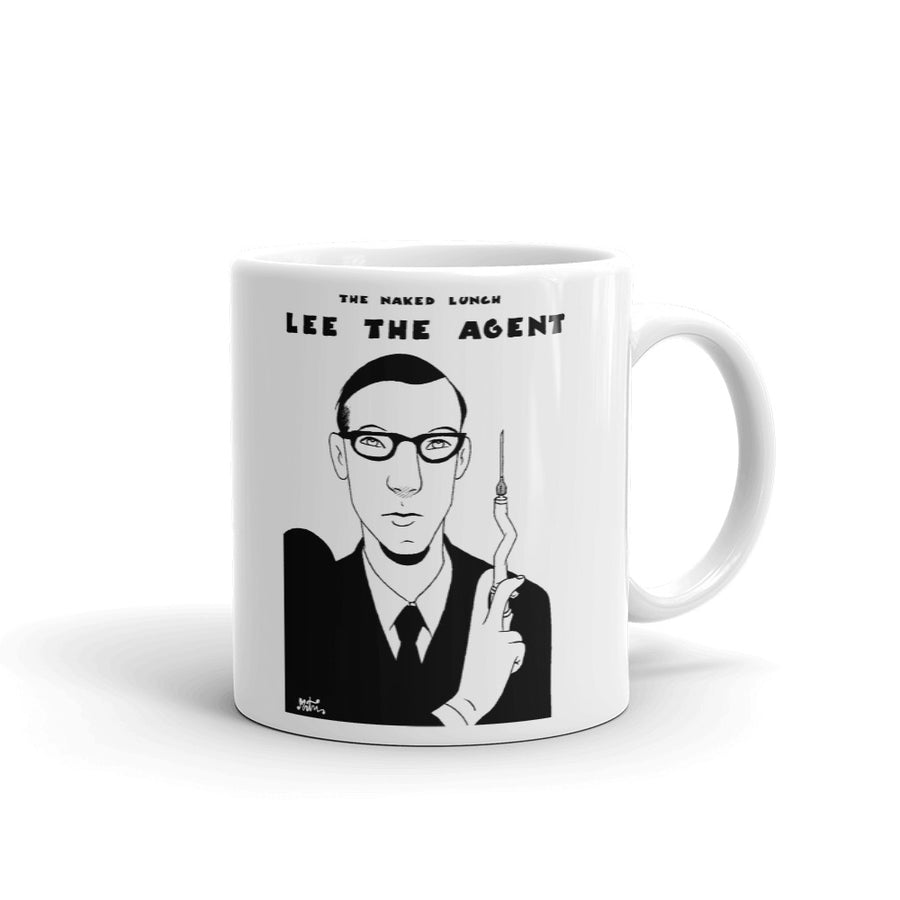 Taza Comic - Miguel Ángel Martín - The naked lunch - Lee the agent