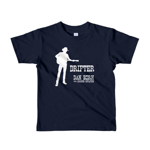 Dan Bern - Drifter - Short sleeve kids t-shirt